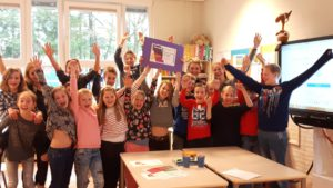 Afsluiting Day for Change Actie